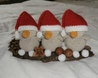 Christmas decoration birds