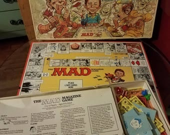 Collectable 1979 MAD Board Game by Parker Brothers