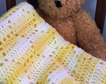 Sweet as can bee baby blanket