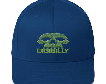 Structured Twill Cap with Digibilly Logo