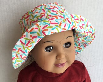 """Hat for 18"""" dolls such as American girl"""