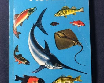A Golden Guide Fishes Reference Book 1955 Release
