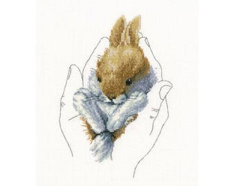 "RTO counted cross-stitch kit ""Warmth in palms"", M697"