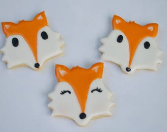 Fox Cookies - qty 12