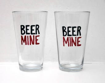 Beer Mine Glasses