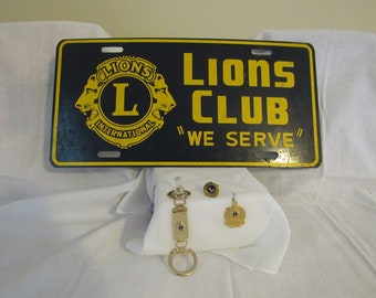 Vintage Lion's Club Variety