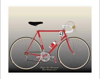 Roger De Vlaeminck's 1972 Paris-Roubaix Bike
