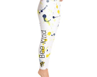 Bee Kind Yoga Pants