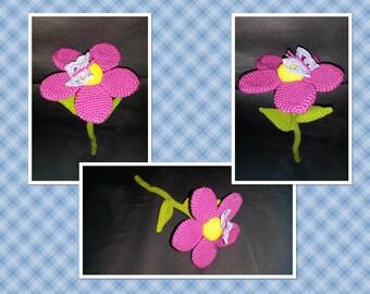 Flower with stem
