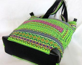 Hmong Vietnam Large Handbag Tote