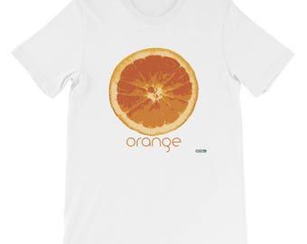 Orange T-Shirt - Mens - Foodie - Chef - Organic