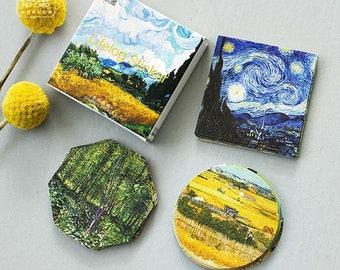 45 pcs Van Gogh Mini Stickers / Stationery Stickers / Scrapbooking Stickers / Notebook Stickers