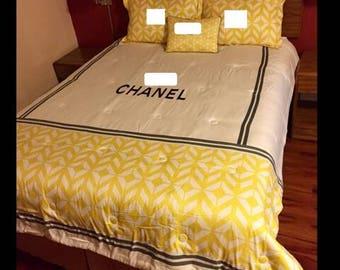 Chanel Designer inspired comforter sets