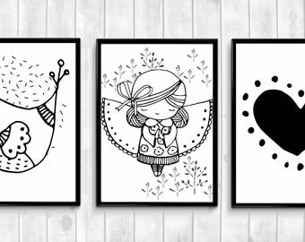 Nursery Wall Art,Nursery Printables,Baby Girl Room,Baby Girl Nursery,Nursery Posters