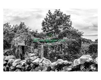 Ruin on the Burren, Clare.