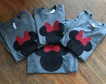 Minnie Mouse | mickey mouse | disney family tees | disney tees
