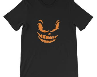 Scary Face 2 Short-Sleeve Unisex T-Shirt