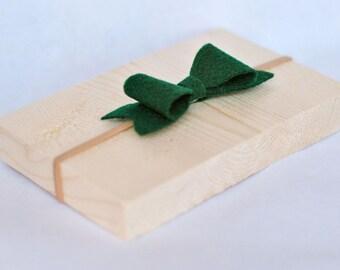 Green Bow Baby Headband