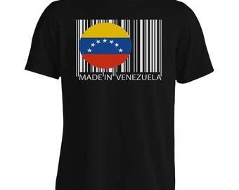 Made in Venezuela Travel World Men's T-Shirt uu52m