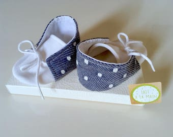Baby BOOTIES - handmade - from 0 to 6 months