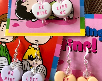 Valentine Conversation Earrings