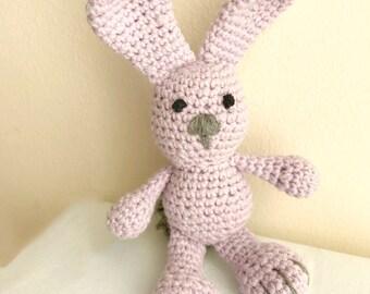 Crochet bunny, Amigurumi bunny, Crochet rabbit, Amigurumi toy, Amigurumi animal, Stuffed toy, Nursery amigurumi, Crochet bunny toy