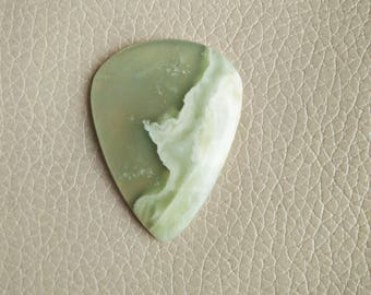 Natural Beautiful Serpentine Pear Shape 01 Piece Gemstone Cabochon, Serpentine Stone, Serpentine Weight 71 Carat and Size 45x35x8 MM Approx.