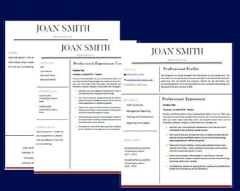 Resume Template, Resume, Resume Template Instant Download, Resume Template Word, Resume Template Professional, Resume and Cover Letter Templ