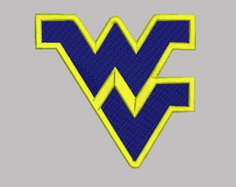 West Virginia Mountaineer Embroidery design 8 Size INSTANT download machine embroidery