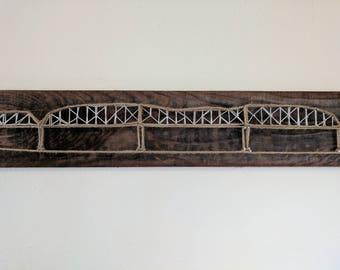 Broadway Bridge String Art