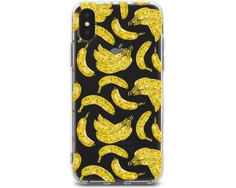 iPhone 6 case banana iPhone 6s case banana iphone case iPhone 7 case fruit iphone case iPhone 8 case iPhone X case iPhone 10 case iPhone 8