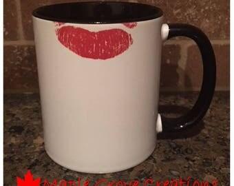 Lipstick Mug - 11 oz ceramic coffee mug