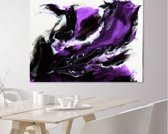 "Print of ""EUPHORIA l"" an Abstract Resin Art work"