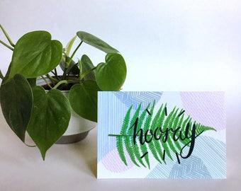 Plant Mom Greeting Card