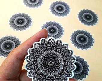 Mandala waterproof and heat resistant sticker