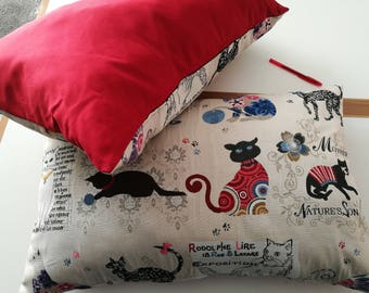 lot 2 big pillows for cats