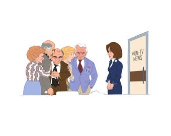 Mary Tyler Moore Show Digital Print