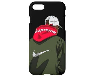 Supreme case for iPhone x case iPhone 8 case 8 plus iPhone 7 case 7 plus iPhone 6s, 6s plus iPhone 6, 6 plus 5, 5s, se, Nike