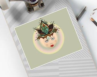 Nature Mind -Stickers -  By Nuni (Mandala Sticker | LIMITED EDITION)