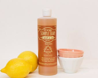 Simple Castile Soap - Orange