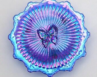 Carnival Glass Society (UK) 2000 commemorative plaque