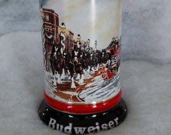 Vintage 1992 Budweiser Stein