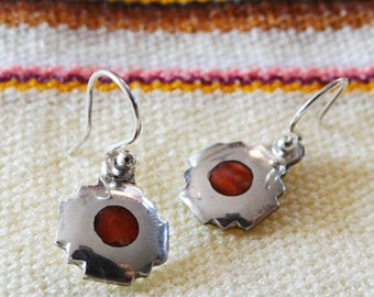 Earrings Peruvian silver