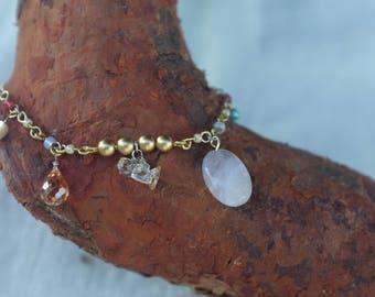 bracelet Beaded Bar Bracelet shaped heart Oval Thin Bracelet Bar jewelry bracelet Birthstone Bracelet thin gold bracelet  shaped heart  Oval