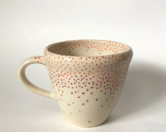 Red and Orange Mug
