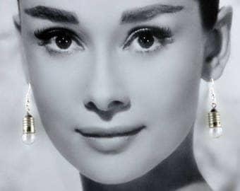 Earrings Vintage bulbs