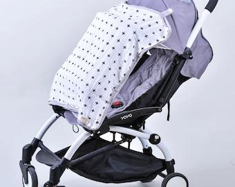 Nona's Stroller & Car Seat Sun Cover