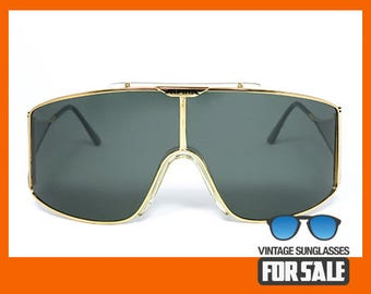 Vintage sunglasses Alpina Stratos original made in West Germany 1985