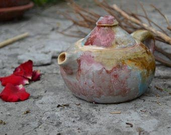 Ceramic Teapot, Stoneware Teapot, Teapot, Coffee Pot, Ceramic Pot, Handmade Pottery Teapot, Ceramic Kettle, Housewarming gift, Spring Gift