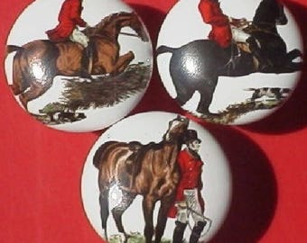 Cabinet Knobs with foxhunt #4 (3)@Pretty@